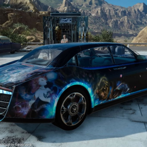 Big Bang skin for the Regalia.