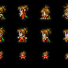 Set of Porom's sprites.