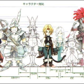 Raffigurazione dei protagonisti in <i><a href=