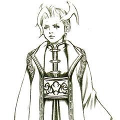 Arte conceitual de Seymour jovem.
