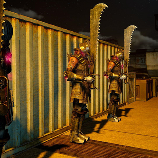 Магитех-пехотинцы в спящем режиме.
