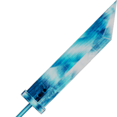 Crystal Buster Sword used by Cloud's <a href=