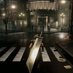 Buster Sword in the <i>Final Fantasy VII</i> remake.