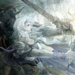 Dark Knight and Paladin Cecil, artwork by Airi Yoshioka.