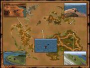 Chocobo Air Garden-location map