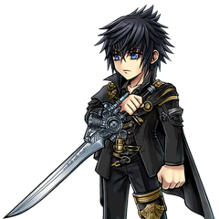 Artwork for Noctis's costume.