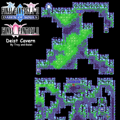 Deist Cavern's Map (PSP).