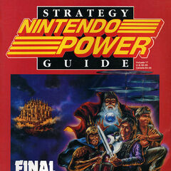 Cover da versão original para Nintendo Power Strategy Guide.