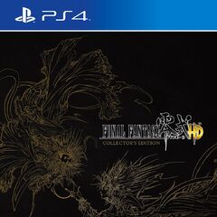 <i>Final Fantasy Type-0 HD</i> <small><small>(Collector's Edition)</small></small>