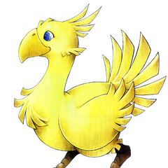 Yellow Chocobo.