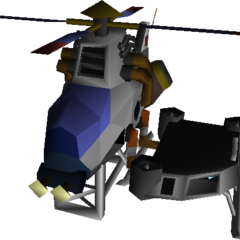 Field model in <i>Final Fantasy VII</i>.