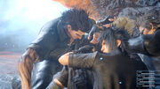 Party-grouching-FFXV