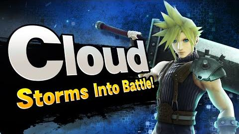 Super Smash Bros. - Cloud Storms into Battle!
