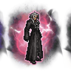 Ultimate++ Ansem, Xemnas, & Young Xehanort.