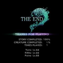 <i>Final Fantasy X-2</i> (PS3).