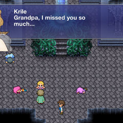 Galuf and Krile reunited.