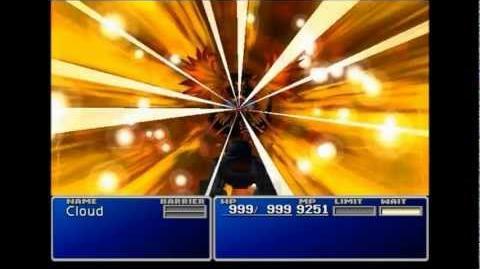 Phoenix Flame - Phoenix summon sequence - FFVII