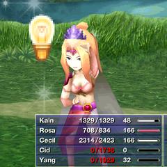 Rosa using Recall (iOS).