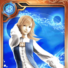 Refia as a Rank R+ card.