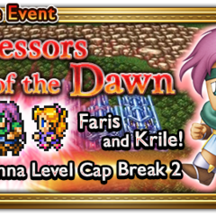 Global event banner for Successors of the Dawn.
