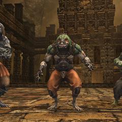 Ba'Gamnan's bandit crew.