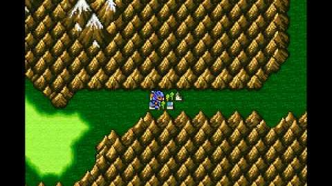 Final Fantasy II (US) IV - Sliding Glitch and Skipping Mist (SNES)