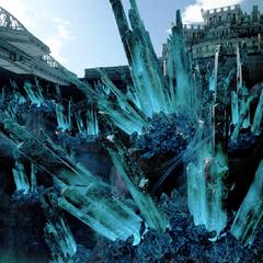 Осколки метеорита, питающие электростанцию ЭКСИНЕРИС.