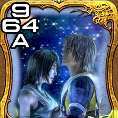 Tidus e Yuna de <i>Final Fantasy X</i>