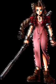 FFVII character Aerith Gainsborough