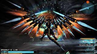 Final Fantasy Type-0 Bahamut-0 vs Shinryu Celestia (ppsspp)