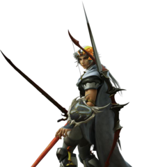 CG render of Firion in <i>Dissidia Final Fantasy</i>.