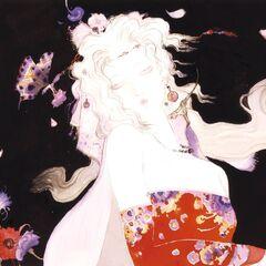 Рисунок Терры работы Ёситаки Амано.
