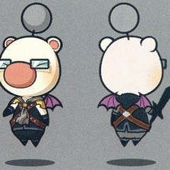 Class Tenth moogle artwork.