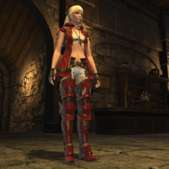 Lyse's <i>Stormblood</i> outfit.