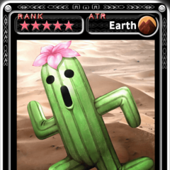 Cactuar King's card in <i>Guardian Cross</i>.
