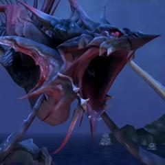 Close-up of Leviathan.