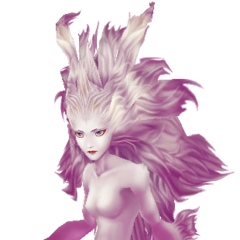 Alt EX Mode. Terra's Esper Form in her first alt outfit, based on its <i>Final Fantasy VI</i> sprite.
