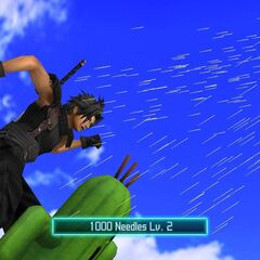 1000 Needles as a summon ability in <i><a href=