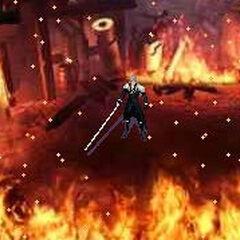 Сцена в <i>Before Crisis -Final Fantasy VII-</i>.