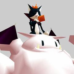 Battle render from the <i>Final Fantasy VII Ultimania Omega</i>.