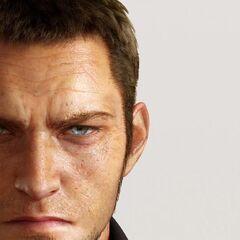 Скриншот лица Кора из трейлера для E3 2013.