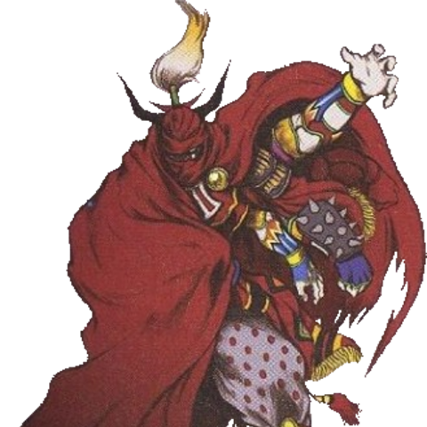 Artwork of Gilgamesh's <i>Final Fantasy VIII</i> outfit.