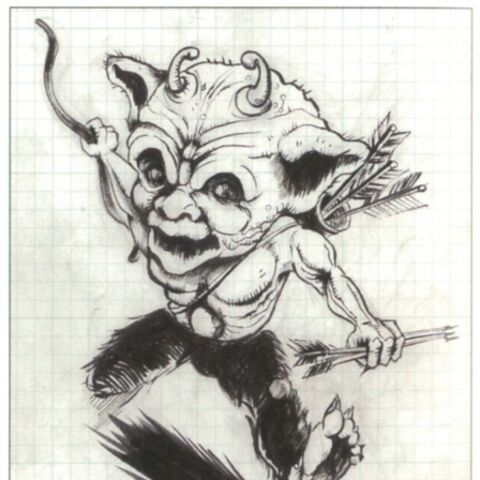 Concept artwork of the Leprechaun.
