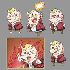 Mascot Corneo illustrations