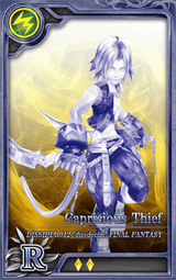 D012 Capricious Thief R L Artniks