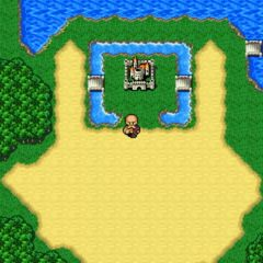 Fabul on the World Map in <i>The After Years</i> (Wii).