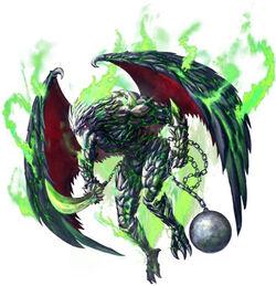 FFLTNS Gargoyle Artwork