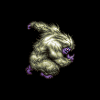 The Japanese dungeon image for <i>Yeti's Cave</i> in <i>Final Fantasy Record Keeper</i>.