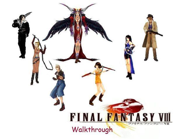 Final Fantasy VIII Walkthru
