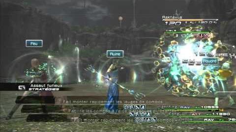 Final Fantasy XIII Combat contre Raktavija
